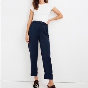 Drapey Tapered Pleat Pants